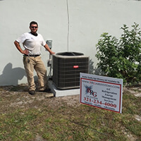Schedule a Heat Pump repair service in Viera FL