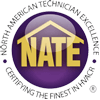 All of our HVAC techs are NATE certified.