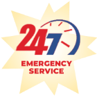 Our HVAC company offers 24/7 emergency service.